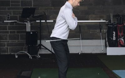 Trennung von Ober- und Unterkörper im Golfschwung